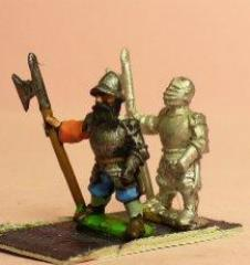 Heavy Halberdiers in Helmets - Assorted