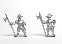 Heavy Halberdiers in Hats - Assorted