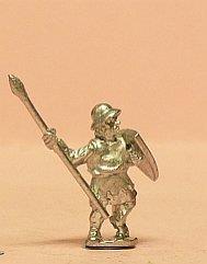 Light/Medium Spearmen w/Large Shield & Kettle Helm