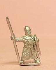 Heavy Spearmen w/Long Mail Coat, Pointed Helm, & Kite Shield
