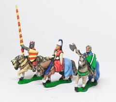 Mounted Lady w/Two Bodyguards 1150 - 1300