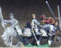 Mounted King, Standard Bearer, & Herald 1360-1450