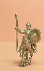 Light Cavalry w/Assorted Helms & Round Shield