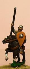 Eastern Knight w/Mail, Round Helm, & Kite Shield