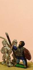 Eastern Javelinmen/Spearmen w/Round Shield - Assorted