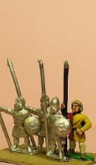 Scots Light/Medium Long Spearmen w/Small Round Shield
