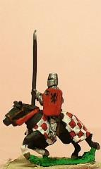 Mounted Knights 1350-1420 w/Jupon, Lance, Shield, & BH. - Assorted