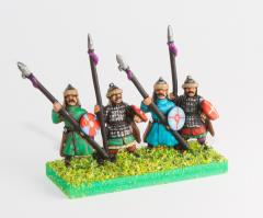 Dismounted Cavalry w/Lance, Shield, & Bow