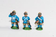 Command - 4 Camel Corps Officers & 2 Dismounted Buglers