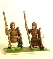 Infantry in Leather Armor w/Spear - Heavy