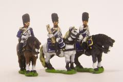 Mounted Grenadier Command Pack - Officer, Standard Bearer & Trumpeter