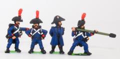 Artillerymen in Bicorne - Assorted
