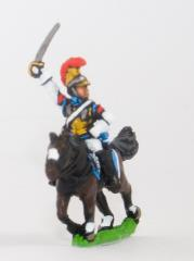 Mounted Carabinier in Helmet