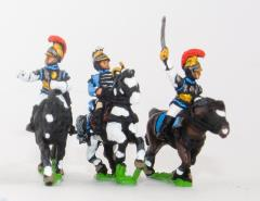 Carabinier Cavalry Command Pack - Officer, Standard Bearer & Trumpeter