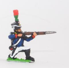 Flanqueurs Grenadiers or Flanqueurs Chasseurs - Kneeling, firing