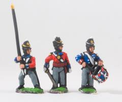 Command Pack - Officers, Standard Bearers & Drummers