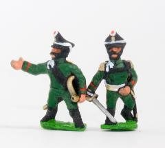 Jager Command Pack - Officers & Hornblowers