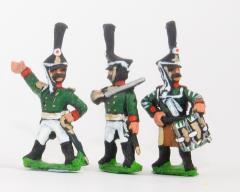 Grenadier Command Pack - Officers, Standard Bearers & Drummers