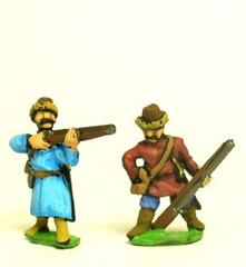 Cossacks - Arquebusier in Assorted Dress - Mixed Poses
