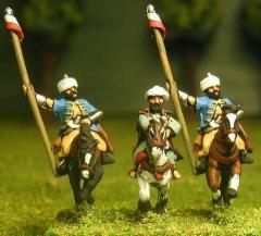 Mounted General & Bodyguards