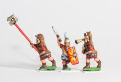 Command Pack - Foot Officers, Advancing Poses