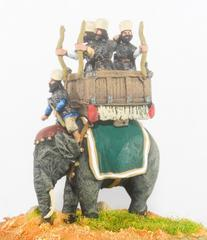 Elephant w/Driver and Archers