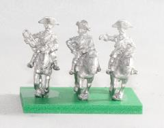 Command Pack - Heavy Cavalry Officer, Standard Bearer, & Trumpeter