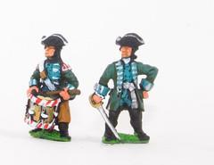 Jager de Noble Officers & Drummers