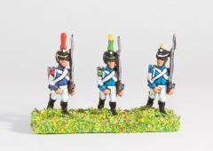 Line Infantry - Voltigeur/Grenadier, 1812-1815