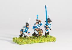 Line Infantry - Officer, Standard Bearer & Drummer
