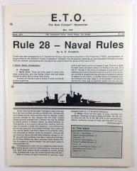 "#34 ""Rule #28 - Naval Rules, Finnish Orders of Battle 1939-1945"""