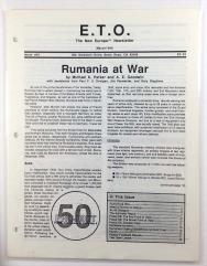"#43 ""Rumania at War, Order of Battle and National Data Sheet"""