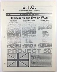 "#47 ""Britain on the Eve of War, British Army in Europa"""