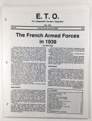 """#56 """"The French Armed Forces in 1939, Belgium at War"""""""