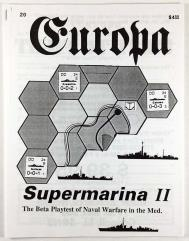 "#20 ""Supermarina II - Naval Module for Europa"""