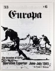 """#33 """"The Invasion of Syria Scenario, 1st British Armored Division"""""""