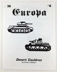 "#36 ""Desert Cauldron, Second Front Errata"""