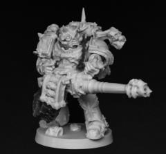 Chaos Autocannon Gunner #2