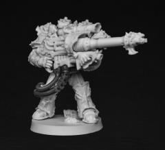 Chaos Laser Cannon Gunner