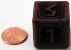25mm Purpleheart Cursebreaker Die