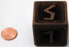 35mm Walnut Cursebreaker Die