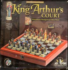 Chess Set - King Arthur's Court (Deluxe Edition)