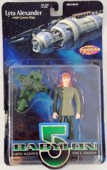 "Lyta Alexander w/Green Ship - 6"" Action Figure"