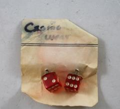 9mm Dice Earrings