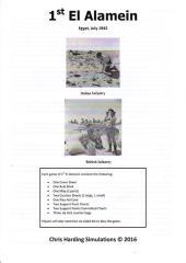 1st El Alamein - Egypt, July 1942