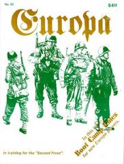 """#22 """"Boot Camp Rules, Second Front Air-Combat System"""""""