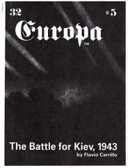 "#32 ""The Battle for Kiev 1943 - Scenario & Designer Notes"""