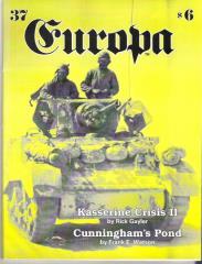 """#37 """"Kasserine Crisis II, Cunningham's Pond"""""""