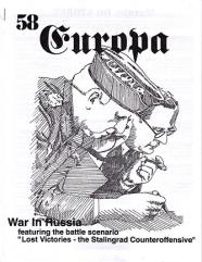 "#58 ""Lost Victories - The Stalingrad Counteroffensive Scenario, The Luftwaffe in Barbarossa"""