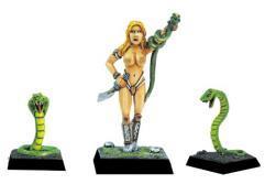 Amazon Priestess w/Snakes
